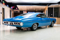 1968 Chevy Impala, Blue 7074 RS-12