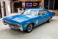 1968 Chevy Impala, Blue 7074 RS-5