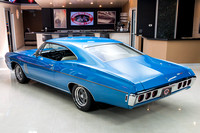 1968 Chevy Impala, Blue 7074 RS-15