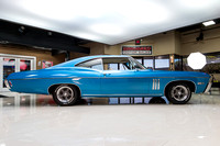 1968 Chevy Impala, Blue 7074 RS-16