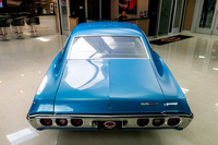 1968 Chevy Impala, Blue 7074 RS-9