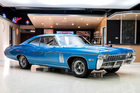 1968 Chevy Impala, Blue 7074 RS-10