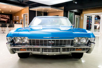 1968 Chevy Impala, Blue 7074 RS-6