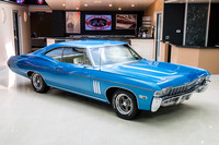1968 Chevy Impala, Blue 7074 RS-11