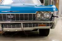 1968 Chevy Impala, Blue 7074 RS-19