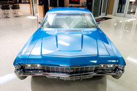 1968 Chevy Impala, Blue 7074 RS-7