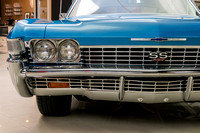 1968 Chevy Impala, Blue 7074 RS-18